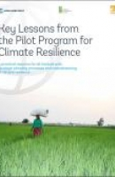 Key Lessons from the Pilot Program for Climate Resilience (Summary)
