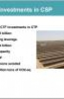 Presentation on CTF investments in Concentrated Solar Power (CSP)