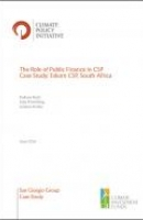 The Role of Public Finance in CSP Case Study: Eskom CSP, South Africa