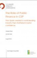 The Role of Public Finance in CSP: How Spain created a world-leading industry then shattered investor confidence