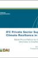 IFC Private Sector Support to Climate Resilience in Zambia - Final Report, September 2012