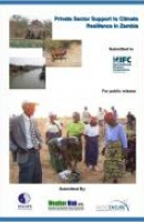 Private Sector Support to Climate Resilience in Zambia: Weather Index Insurance - Final Report