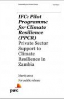 Private Sector Support to Climate Resilience in Zambia: Natural Resources - Final Report