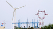 A wind turbine farm in Tunisia. - Photo: Flickr/World Bank