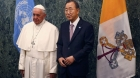 Pope Francis to the UN: environmental degradation threatens 'the very existence of the human species'